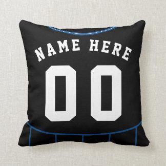 Almofada Modelo do travesseiro do número do nome do jérsei