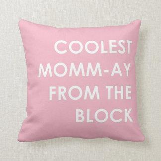 Almofada Momm-Ay o mais fresco do bloco