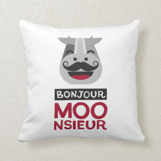 Almofada Monsieur de Bonjour
