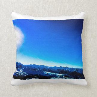 Almofada Montanha azul