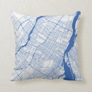 Almofada Montreal Urban Pattern BLUE