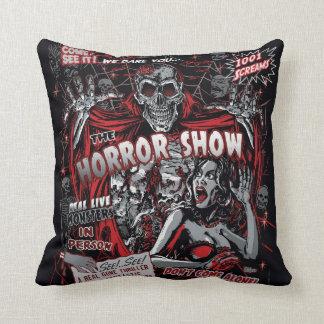 Almofada Mostra do susto dos monstro do filme de terror