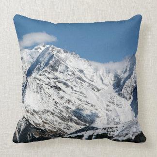 Almofada Mt. Blanc com nuvens