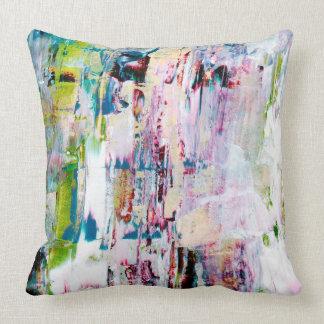 Almofada Multi colorido, coxim da arte abstracta