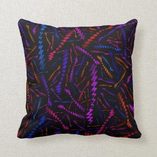 Almofada Multi ziguezagues coloridos