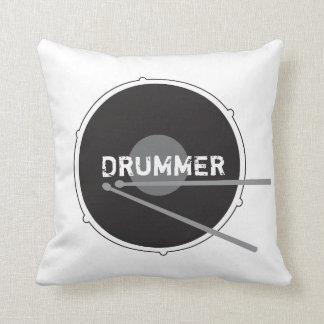 Almofada Música rock mínima da percussão do baterista dos