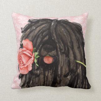 Almofada Namorados Puli cor-de-rosa