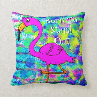 Almofada Nascer do flamingo para estar para fora o