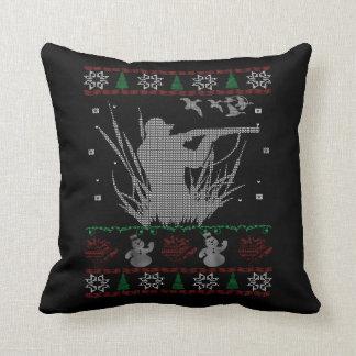 Almofada Natal da caça do pato