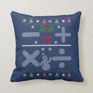 Almofada Natal da matemática