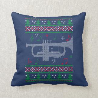 Almofada Natal da trombeta