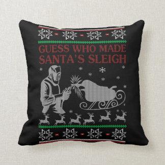 Almofada Natal do soldador