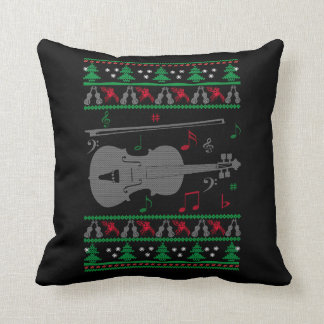Almofada Natal do violino