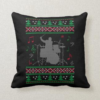 Almofada Natal feio dos cilindros