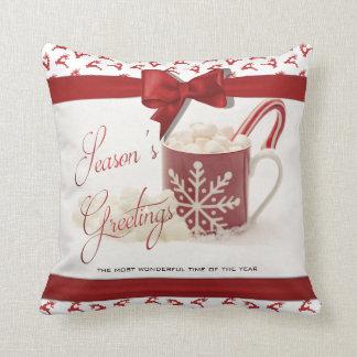 Almofada Natal Holidys, a melhor época do ano