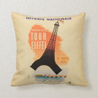 Almofada Nationale do loterie de Eiffel da excursão