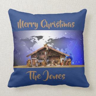 "Almofada Natividade 20"""" travesseiro decorativo X20"