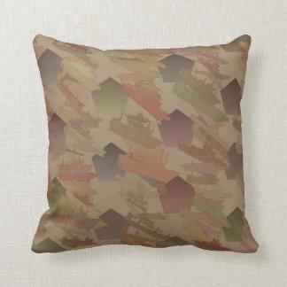 Almofada Navios e travesseiro reversível do algodão dos