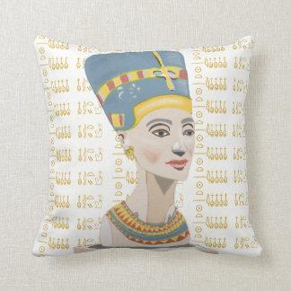 Almofada Nefertiti e Cartouche