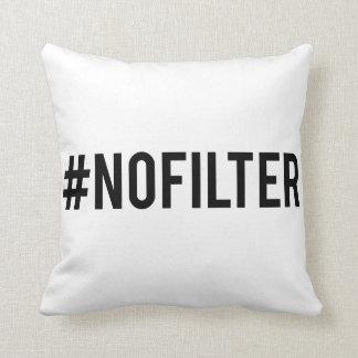 Almofada Nenhum filtro