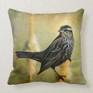 Almofada No travesseiro decorativo do centro das atenções