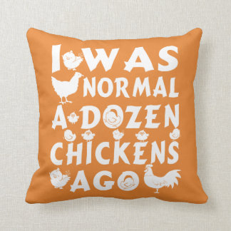 Almofada Normal um dúzia galinhas há