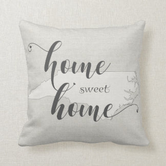 Almofada North Carolina - serapilheira-olhar Home doce Home