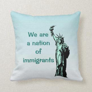 Almofada Nós somos uma nação do travesseiro decorativo dos