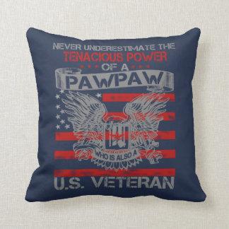 Almofada Nunca subestime o Pawpaw