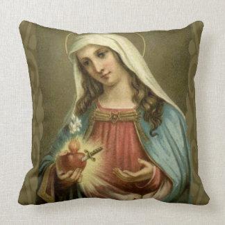 Almofada Nuvens imaculadas dos anjos da Virgem Maria do