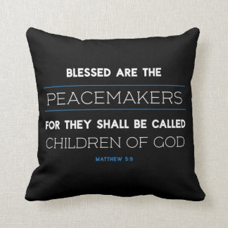 Almofada O 5:9 de Matthew, Blessed é o travesseiro dos