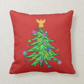 Almofada O acento dos travesseiros descansa a árvore de