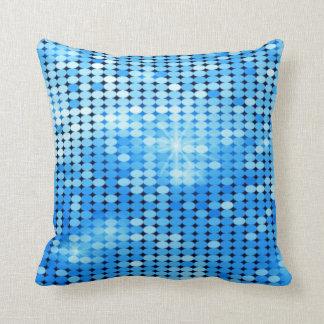 Almofada o azul sparkles travesseiro decorativo