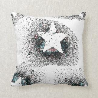 Almofada O branco Stars o travesseiro decorativo