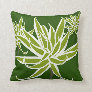 Almofada O branco verde deixa a Decor#13b o travesseiro