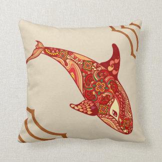 Almofada O coxim da baleia do amor
