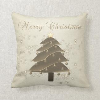 Almofada O Feliz Natal, árvore de Natal, Sparkles