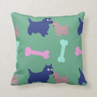 Almofada O filhote de cachorro de Terrier do Scottish