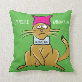 Almofada O gato do bichano resiste o travesseiro