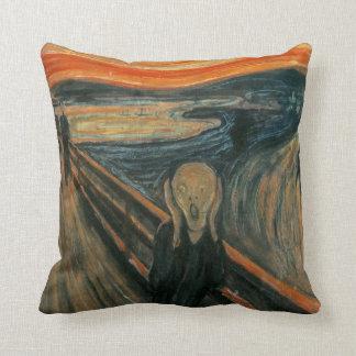 Almofada O gritar por Edvard Munch
