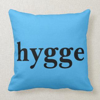 Almofada O hygge dinamarquês da língua significa o conforto
