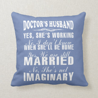 Almofada O Marido do doutor