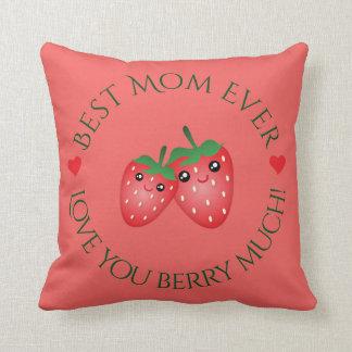 Almofada O melhor amor do dia das mães da mamã nunca você