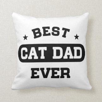 Almofada O melhor pai do gato nunca