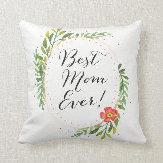 Almofada O melhor travesseiro decorativo da mamã nunca