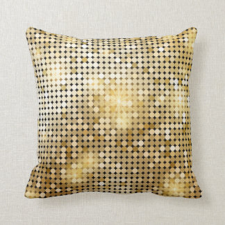 Almofada o ouro sparkles travesseiro decorativo