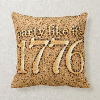 Almofada O partido como ele é 1776