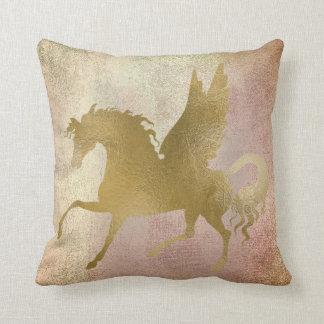 Almofada O Pastel cora cobre cor-de-rosa da pintura de