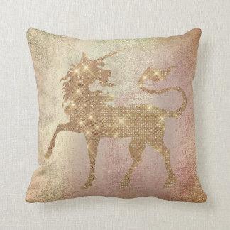 Almofada O Pastel cora cobre cor-de-rosa da pintura do