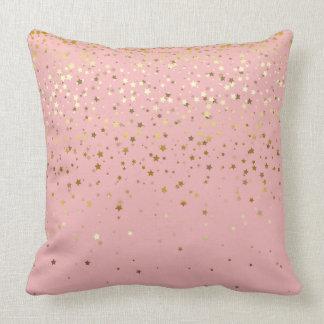 Almofada O pequeno ouro interno Stars o Travesseiro-Cravo